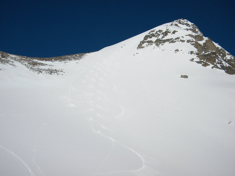 South face.... Pick your line!!
