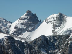 Rock Climbing Photo: View from Toll of Dicker's Peck and Navajo snowfie...