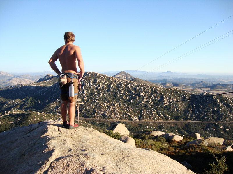 Rock Climbing Photo: Woodson.
