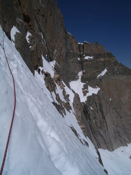 Rock Climbing Photo: broadway in sloppy conditions...