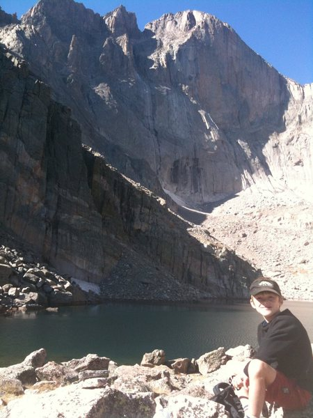 Chasm Lake, October 3.