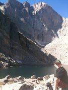Chasm Lake, October 3.