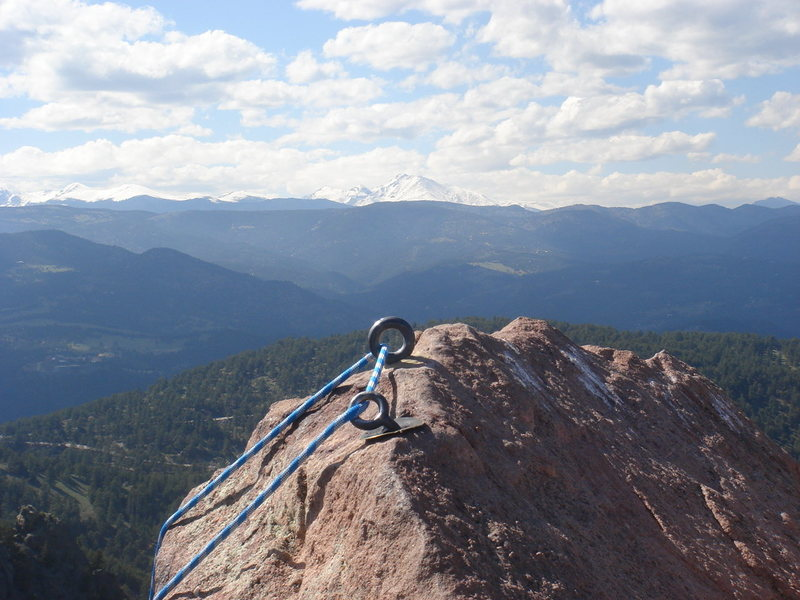 Rock Climbing Photo: From First summit.