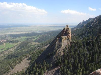 cbb2f083491 Rock Climbing in Third Flatiron