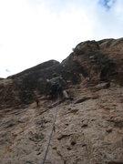 Rock Climbing Photo: Onsighting HoH.