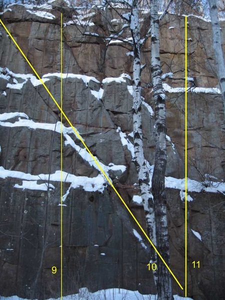Rock Climbing Photo: Middle Right
