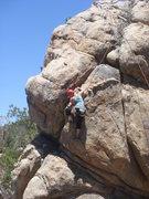 Rock Climbing Photo: Taylor on Prohibited