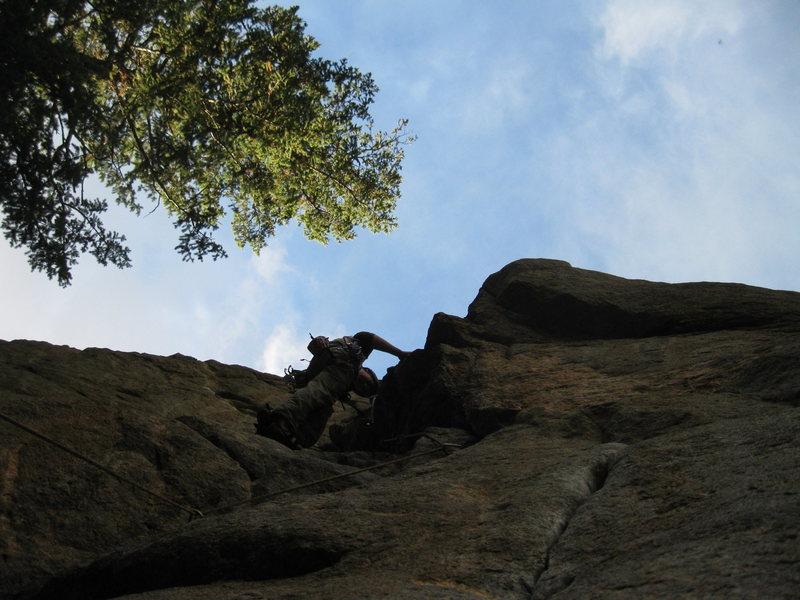 Rock Climbing Photo: Fun climb.