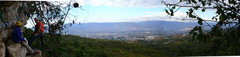 Rock Climbing Photo: Panoramic of Tuxtla Gutierrez from the walls of Co...