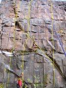 Rock Climbing Photo: Route 3