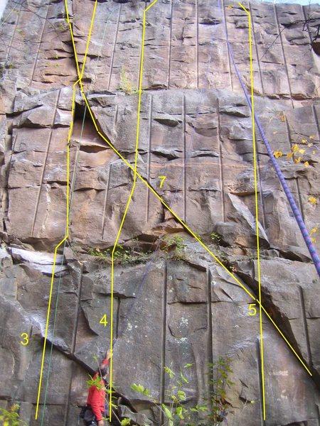 Rock Climbing Photo: Route 4