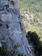 Rock Climbing Photo: JAM CRACK - Pitch 2 with beta. Need to open Hi Res...