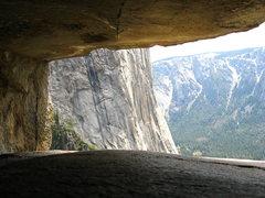 Rock Climbing Photo: Taken on lead.