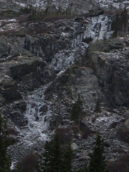 Rock Climbing Photo: Lincoln Falls 10/10/10