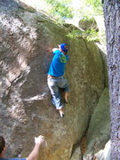 Rock Climbing Photo: from here i have my hands on the gastone and the R...
