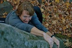 Rock Climbing Photo: Sam on 10,000 teeth