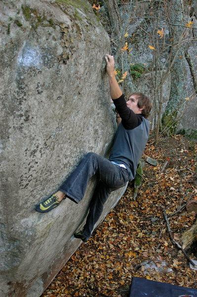 Rock Climbing Photo: Me on Ipod Army