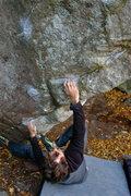 "Rock Climbing Photo: Me using the ""girl beta""."