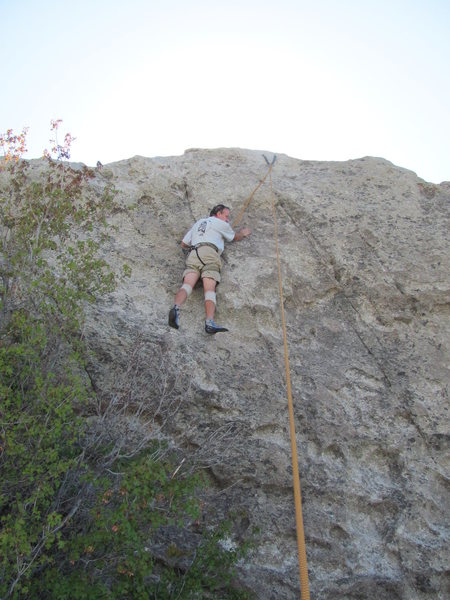 "Rock Climbing Photo: Fritz on ""Topropes."""