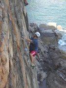 Rock Climbing Photo: otter cliff