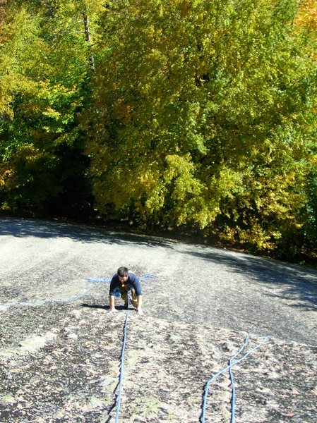 Rock Climbing Photo: Me climbing the slabs