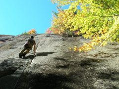 Rock Climbing Photo: Me on a nice fall day