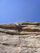 Rock Climbing Photo: Goofing around on really nice holds....