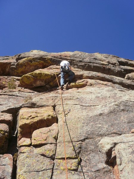 Rock Climbing Photo: Looks like the gear was good, but now you can be l...