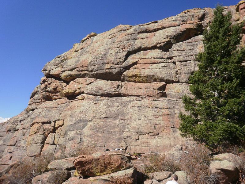 Rock Climbing Photo: Training Ground overview....
