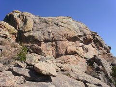 Rock Climbing Photo: Scooter Trash (bottom of the wall is hidden down a...