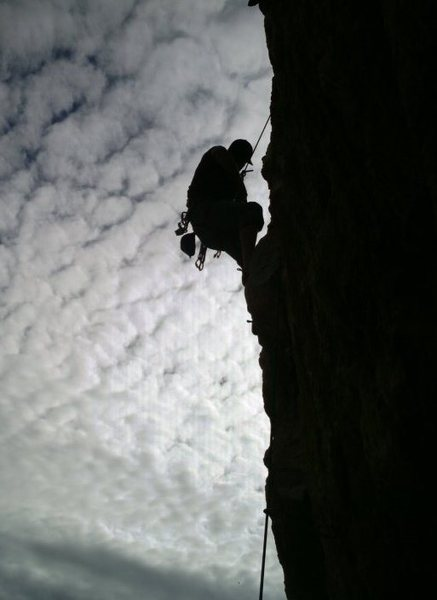 Rock Climbing Photo: totom pole