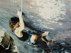 Rock Climbing Photo: Zschiesche back in the day,.. of skin and bones, a...