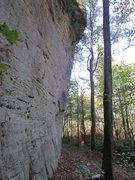 Rock Climbing Photo: LaGrange Wall