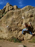 Rock Climbing Photo: So, I stumbled across this boulder problem while i...