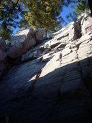 Rock Climbing Photo: Looking up Box Canyon.