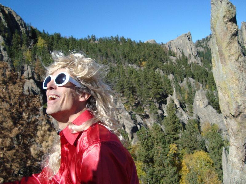 Rock Climbing Photo: AWWWW YEAH!!