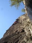 Rock Climbing Photo: Alexa on FDDD. Photo by Adam Bofinger