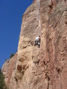 Rock Climbing Photo: got my redpoint on Dihedrus (5.10b), Cactus Cliff,...