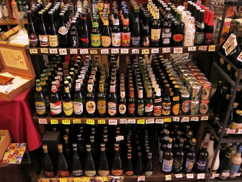 Rock Climbing Photo: Whole lotta love - the beer selection in Finalborg...