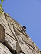 "Rock Climbing Photo: tony on his route "" magnetic north"