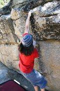 Rock Climbing Photo: Catching it on Busta Move