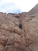 Rock Climbing Photo: Tanya climbing Cheers.
