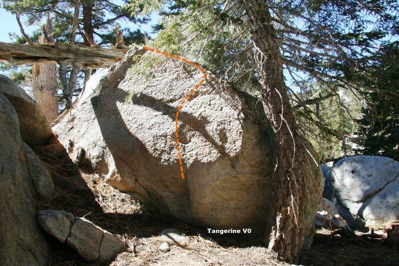 Citrus Boulder Topo