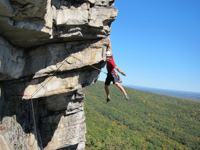 Rock Climbing Photo: Serious business!AaronM