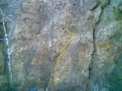 Rock Climbing Photo: This is bottom of climb