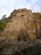 Rock Climbing Photo: STD wall ...., short routes above ledge.