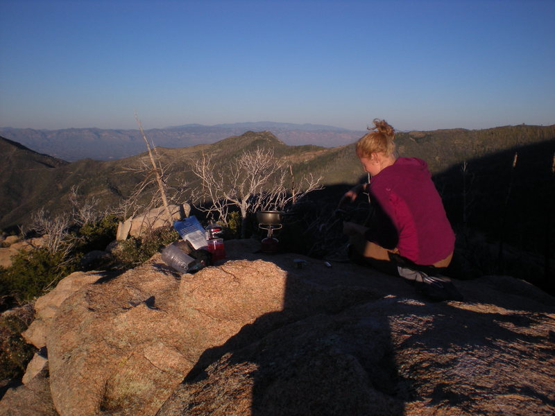 Rock Climbing Photo: it's worth lugging the camping gear down for the s...
