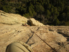 Rock Climbing Photo: i think this is just above the crux