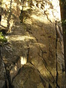 Rock Climbing Photo: Hard to see in picture but easy to see when there....