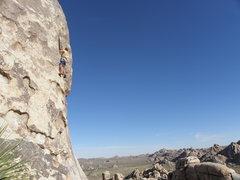 Rock Climbing Photo: Tucker Tech on Butterflies are Free.